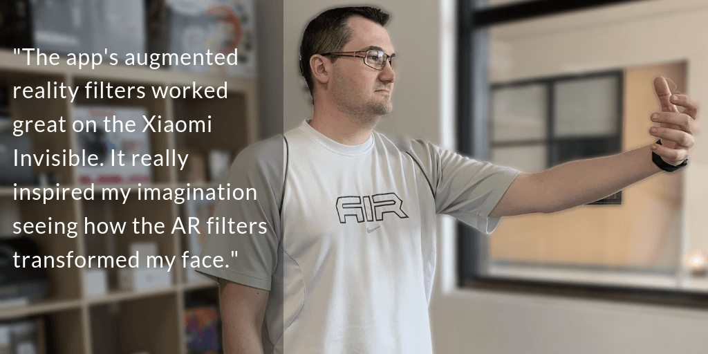 Testing AR functions on a mobile app