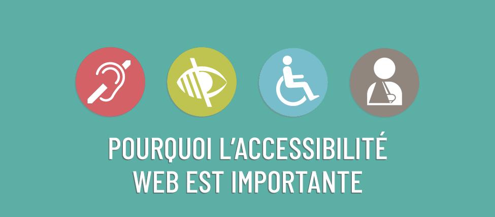 Pourquoi l'accessibilité web est importante