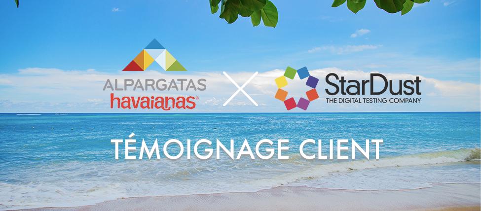 Havaianas et StarDust : une campagne de test e-commerce