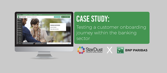 Case Study: Testing a Customer Onboarding Journey in the Banking Sector