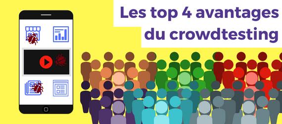 Benefits of Crowdtesting