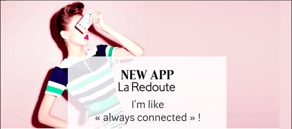 La Redoute app