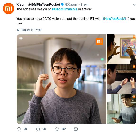 The Xiaomi Invisible