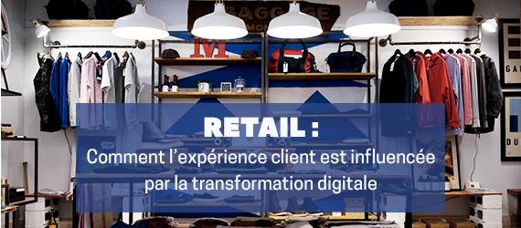 Comment la transformation numérique améliore l'experience client en magasin