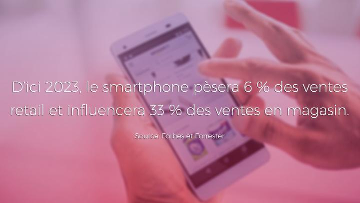 L'influence des mobiles sur le parcours client