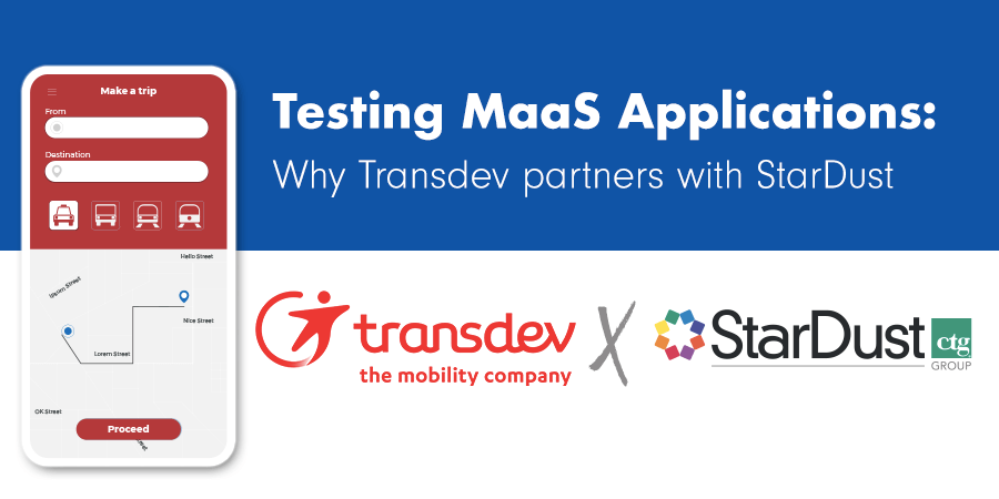 Testing MaaS Applications: Why Transdev partners with StarDust