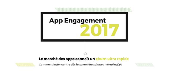 Infographie : App Engagement 2017 et testing