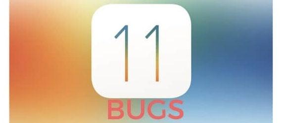 Les premiers bugs d'iOS11