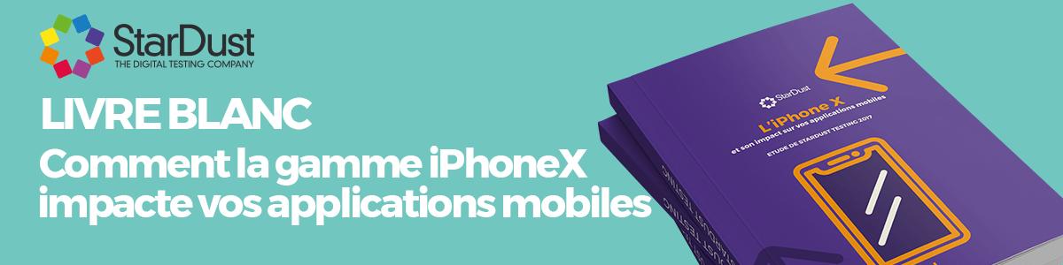 L'impact de l'iPhoneX