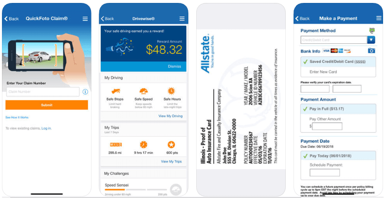insurance app example