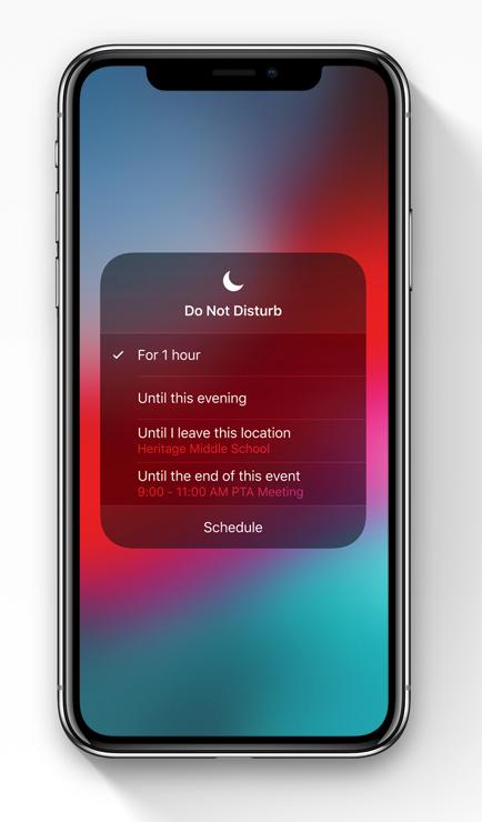 iOS12-ne pas deranger