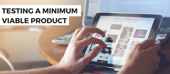 Testing a Minimum Viable Product