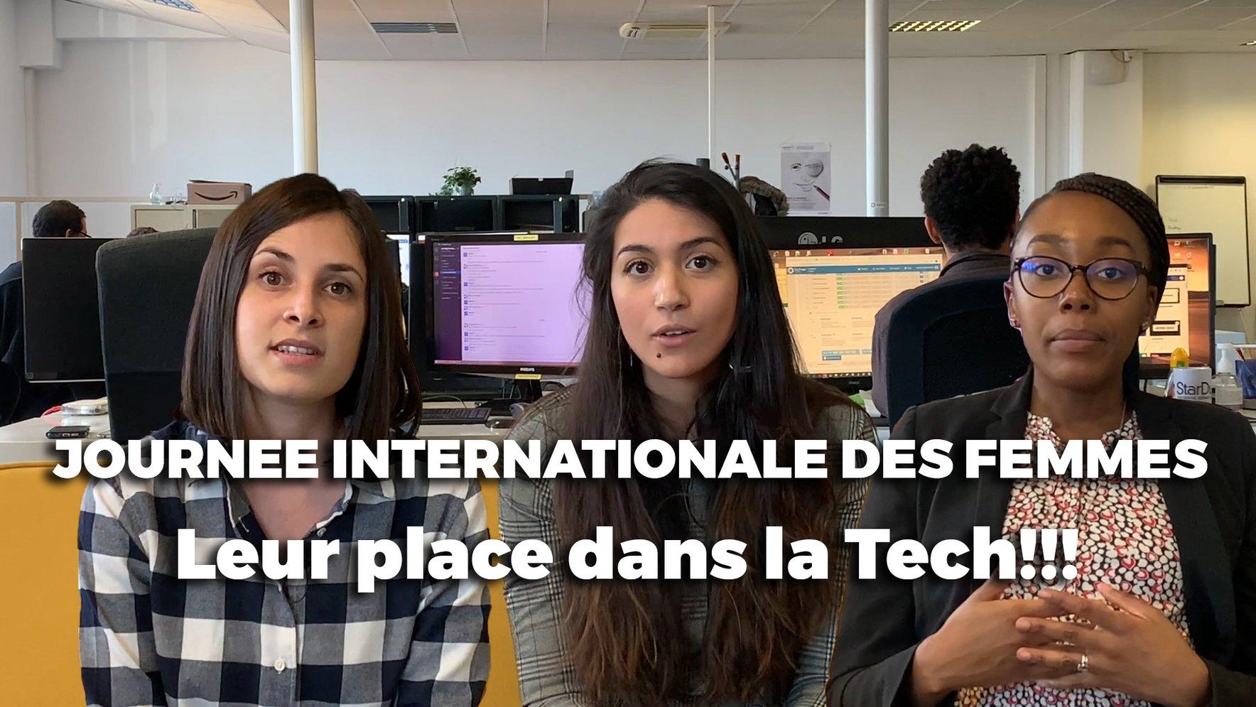 La place des Femmes dans la Tech